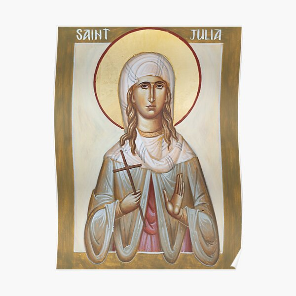 St Julia of Carthage Poster