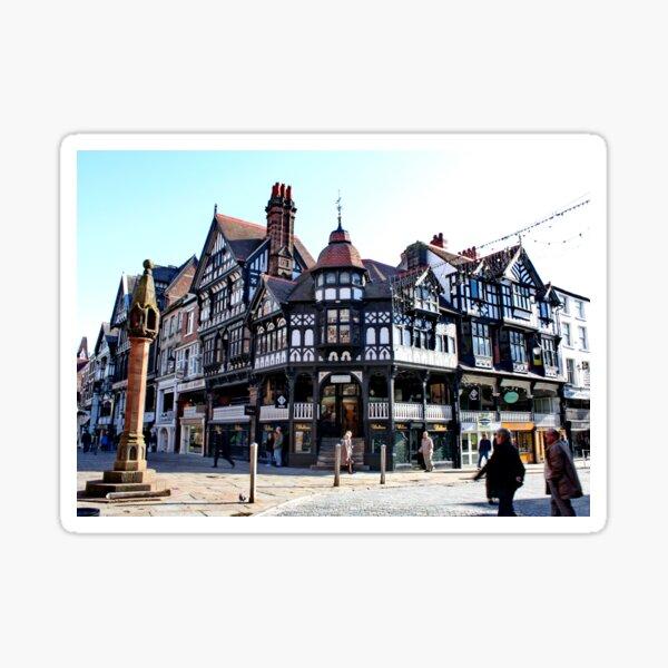 Chester Cross, Chester, Cheshire, UK Sticker