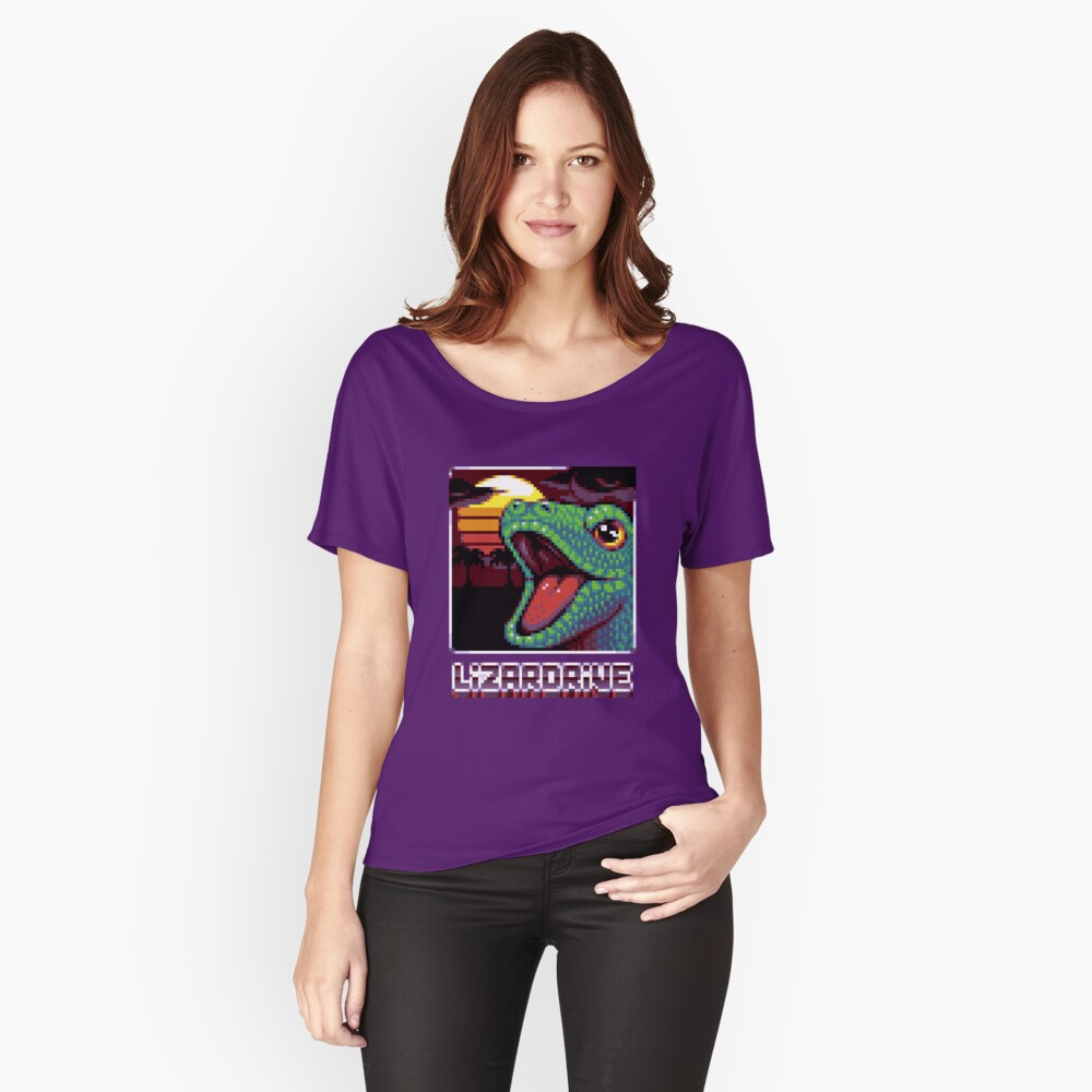 T-shirt coupe relax «LIZARDRIVE»