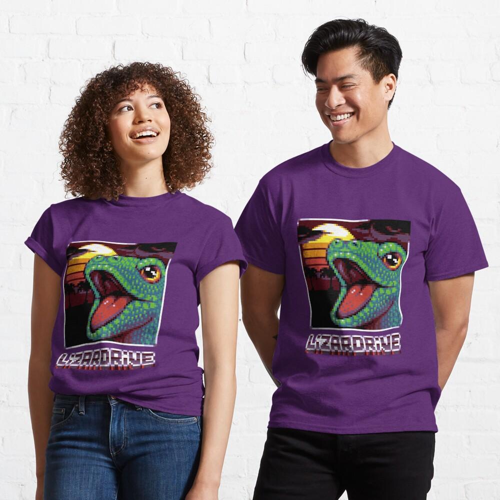 T-shirt classique «LIZARDRIVE»