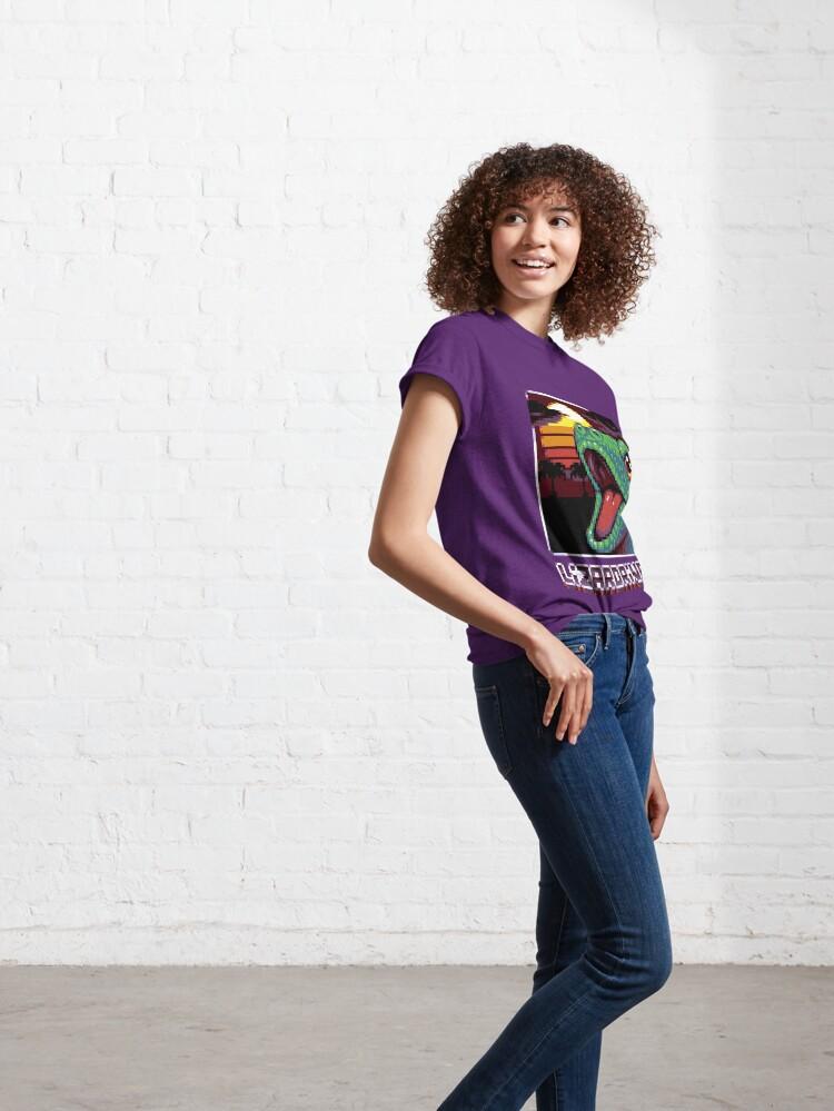 T-shirt classique ''LIZARDRIVE': autre vue