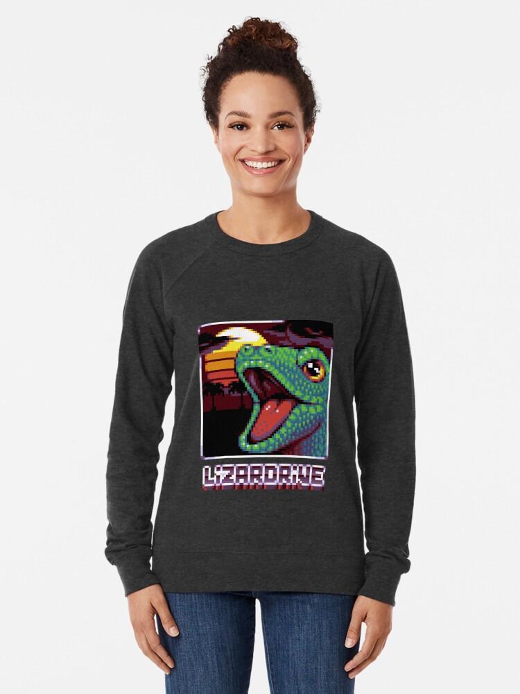 Sweatshirt léger ''LIZARDRIVE': autre vue