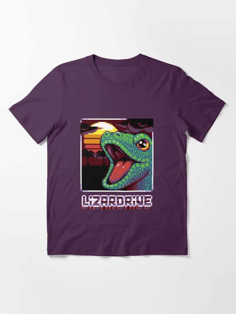 T-shirt essentiel ''LIZARDRIVE': autre vue