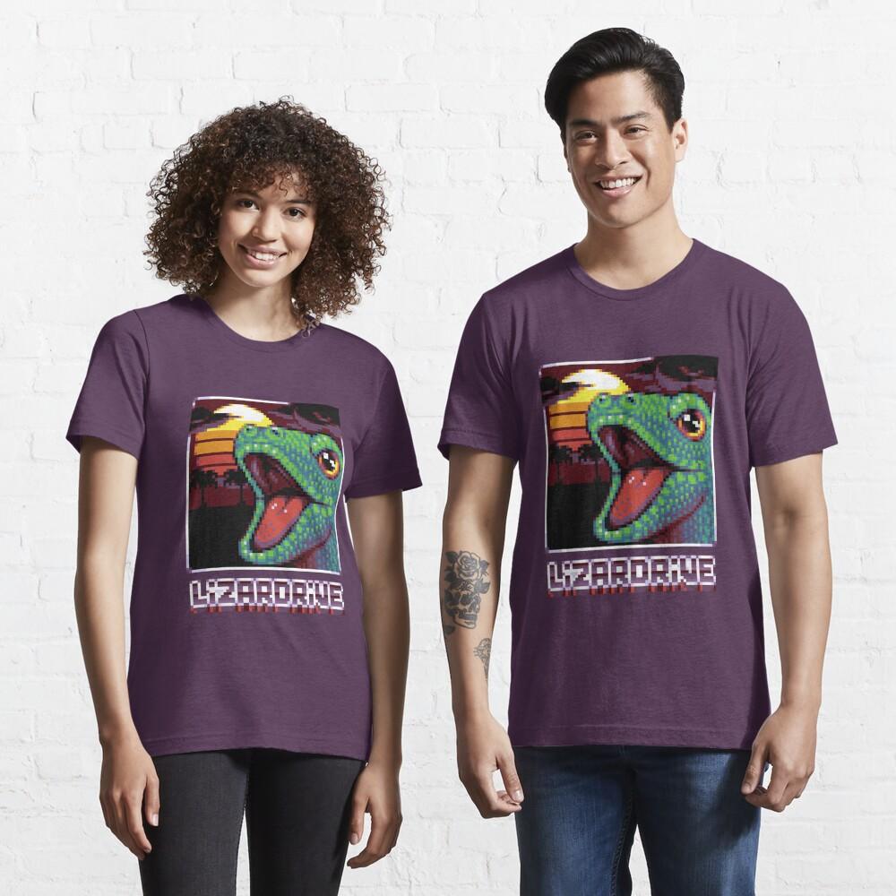 T-shirt essentiel «LIZARDRIVE»