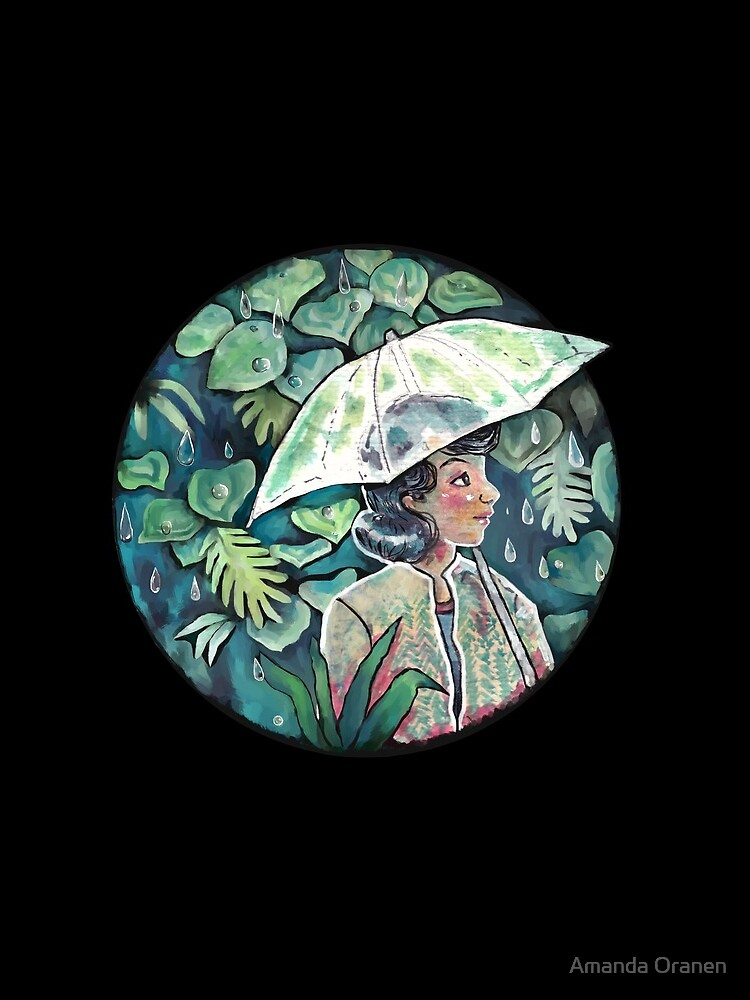 Umbrella girl by AmisArt