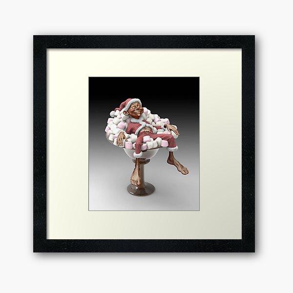 Festive Comfort Food! Framed Art Print