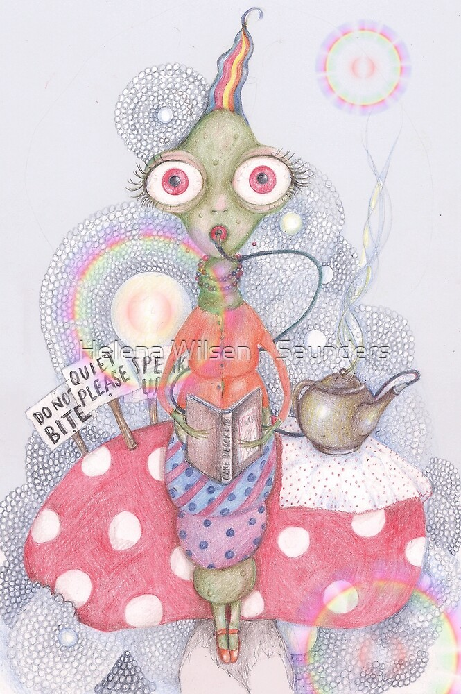 The Wonderland Caterpillar by Helena Wilsen - Saunders