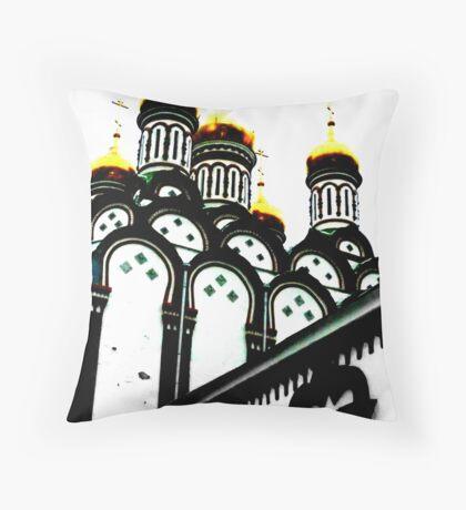 Moscow 3 Throw Pillow