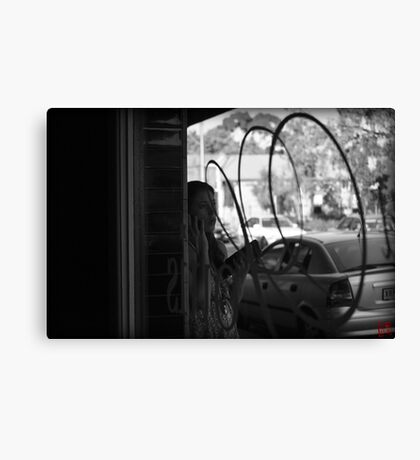 Caffeinated Rendezvous Canvas Print