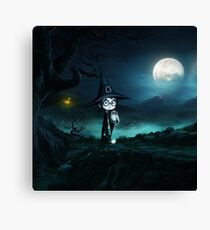 Witch at The Nightmare Canvas Print