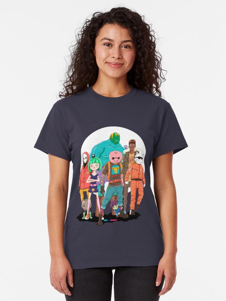 Vista alternativa de Camiseta clásica MAD SQUAD by Fran Ferriz