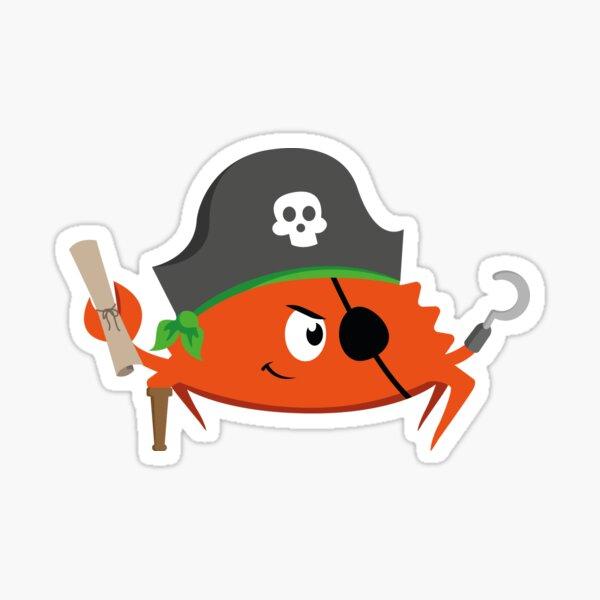 Ferris the Pirate Sticker