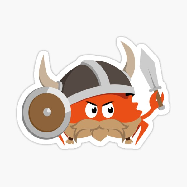 Ferris the Viking Sticker