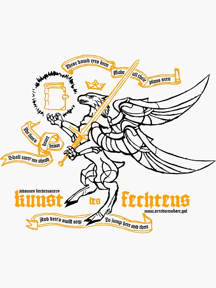 Kunst des Fechtens - Tetramorph by ArteDoCombate