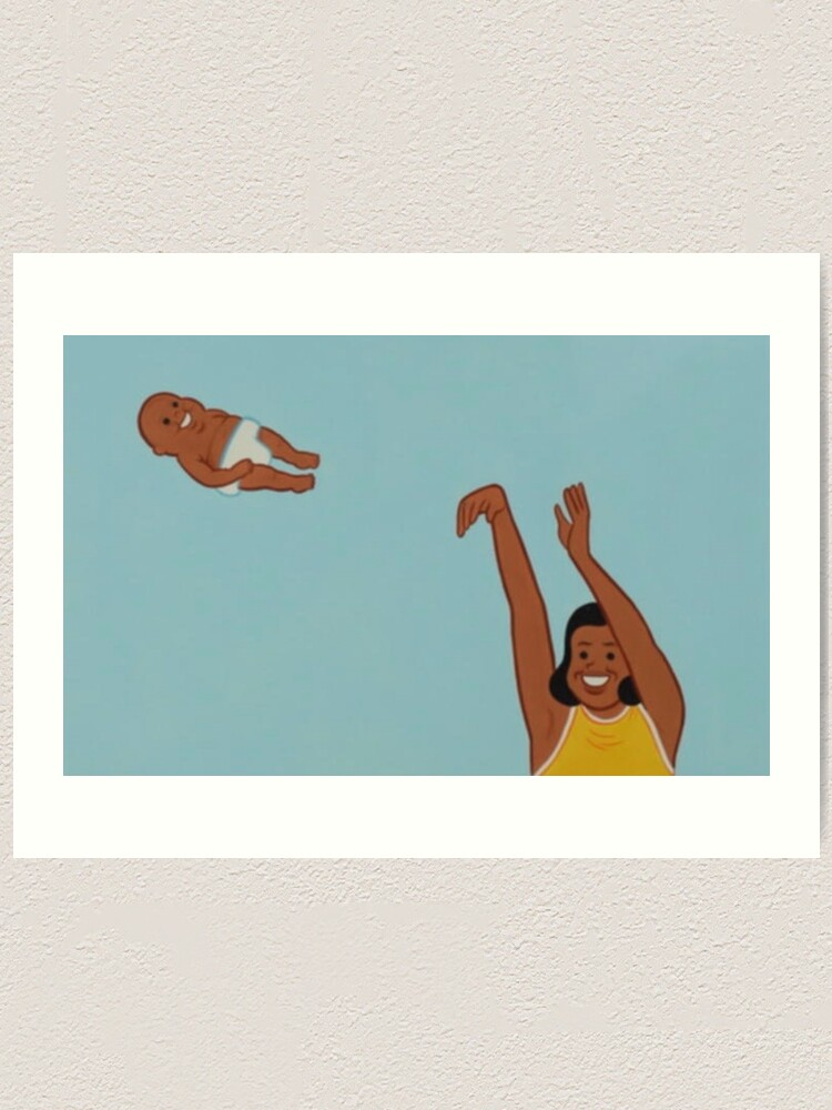 Meme Yeet Throwing Baby Art Print By Carntzen Redbubble There are 14 yeet baby for sale on etsy, and they cost $13.44 on average. redbubble