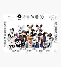 EXO - Collage Photographic Print