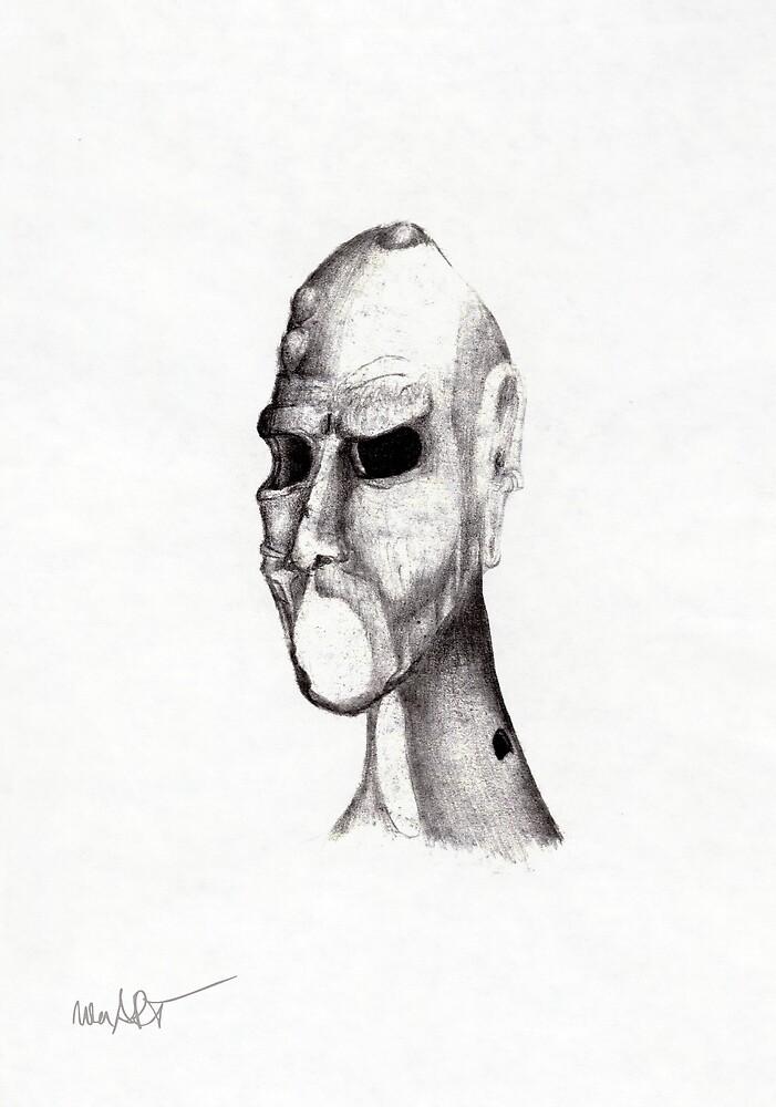 LOCHKOPF 15/03/1994 | Classical Art Mixed Media / Klassiche Kunst diverse Techniken von nenART-Official