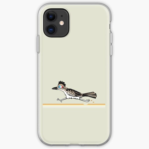 Roadrunner running iPhone Soft Case