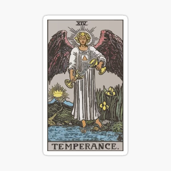 Tarot - Temperance Sticker
