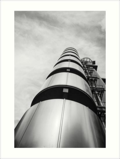 Lloyd´s building, London by JJFarquitectos