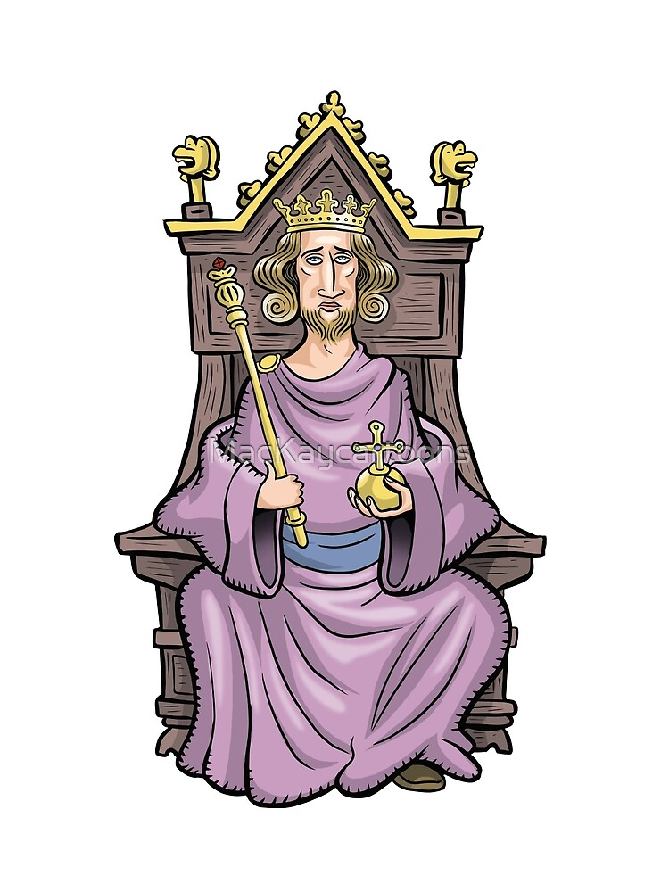 King Henry III by MacKaycartoons
