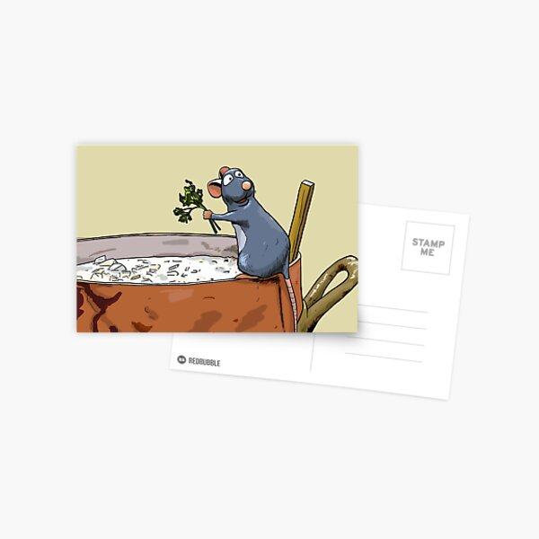 Ratatouille Postcard