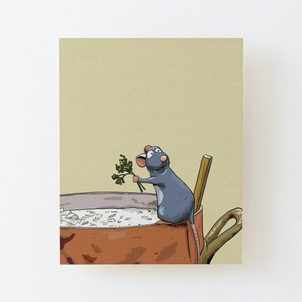 Ratatouille Wood Mounted Print