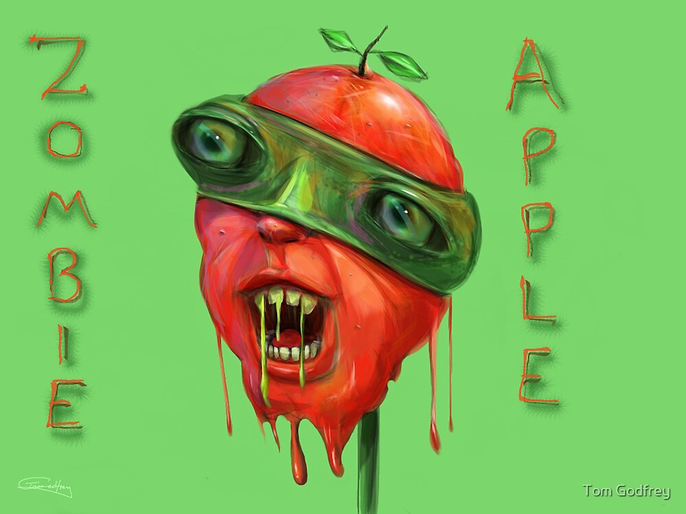 Zombie Apple by Tom Godfrey