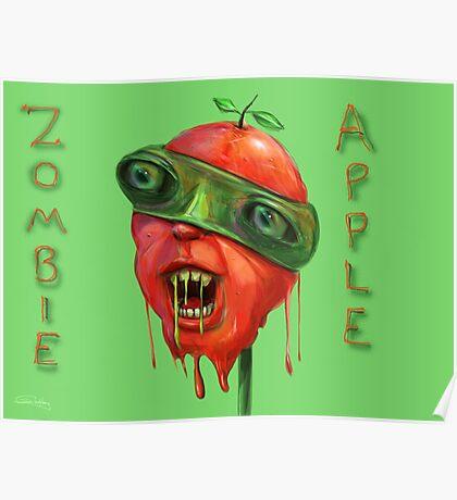 Zombie Apple Poster