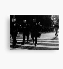 one city... 34,000 cops Canvas Print