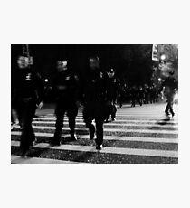 one city... 34,000 cops Photographic Print