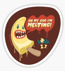OMG I'm MELTING! Sticker