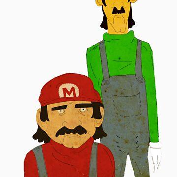 The Super Mario Bro's by CrosbyDesign