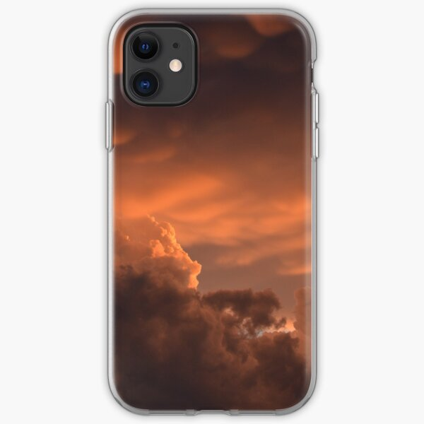 Moody Prairie Sky 1 iPhone Soft Case