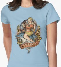 Sploosh! Womens Fitted T-Shirt