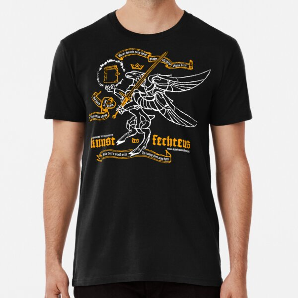 Kunst des Fechtens - Tetramorph Premium T-Shirt