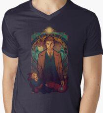 Allons-y Men's V-Neck T-Shirt