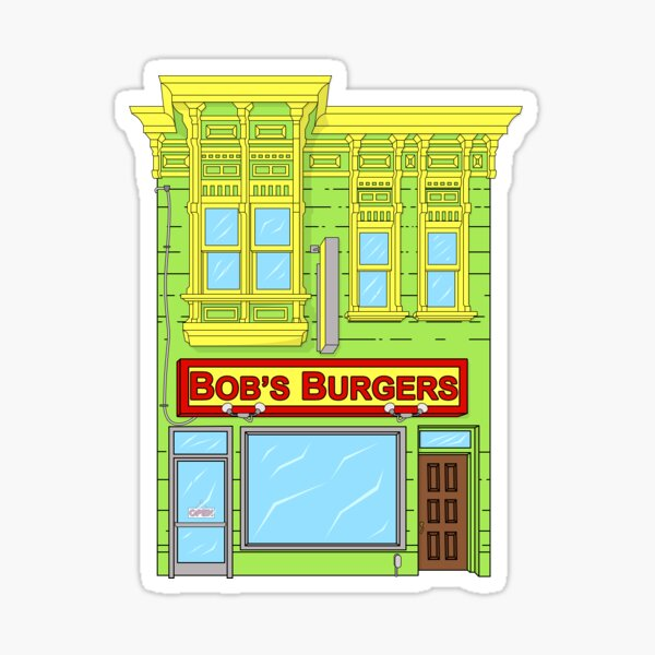 Bob's Burgers Sticker