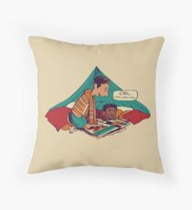 Troy and Abed's Dope Adventures Throw Pillow