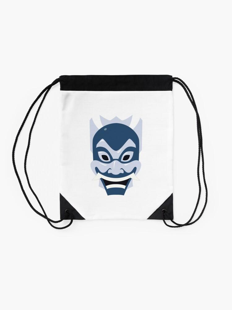 Alternate view of The Blue Spirit Drawstring Bag