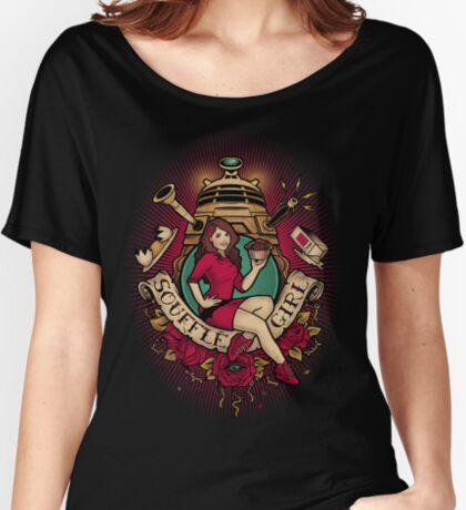 Souffle Girl Women's Relaxed Fit T-Shirt