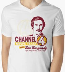 Channel 4 News Team with Ron Burgundy! T-Shirt