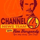 Channel 4 News Team with Ron Burgundy! by SykoGraphx