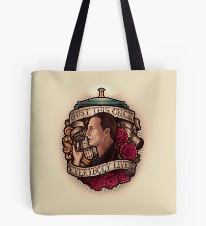Just This Once Tote Bag
