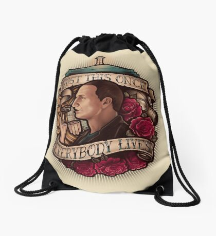 Just This Once Drawstring Bag
