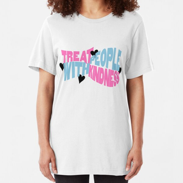 Treat People With Kindness Harry Styles Slim Fit T-Shirt