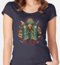 I Am The Bad Wolf Women's Fitted Scoop T-Shirt