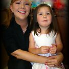 My Daughter-in-Law and Granddaughter by Wanda Raines