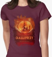 Travel To...  Gallifrey! Women's Fitted T-Shirt