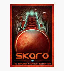 Travel To... Skaro! Photographic Print
